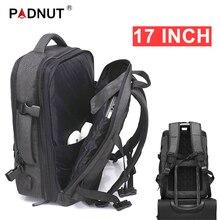 Рюкзак с защитой от кражи для мужчин и женщин, дорожный водонепроницаемый вместительный ранец для ноутбука 17 дюймов, рюкзак черного цвета с USB зарядкой