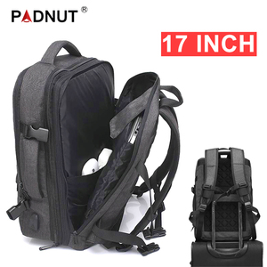 Image 1 - Anti Theft Backpack 17 Inch Laptop Men Bagpack Travel Waterproof Large Capacity Back Pack Women Male Black Backpacks USB Charger