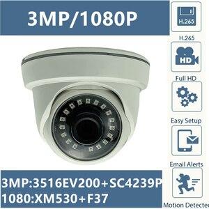 Image 1 - 3MP 2MP XM535AI + SC3235 2304*1296 1080P Ip Plafond Dome Camera Indoor XM530 + F37 Onvif Irc cms Xmeye P2P Rtsp Bewegingsdetectie