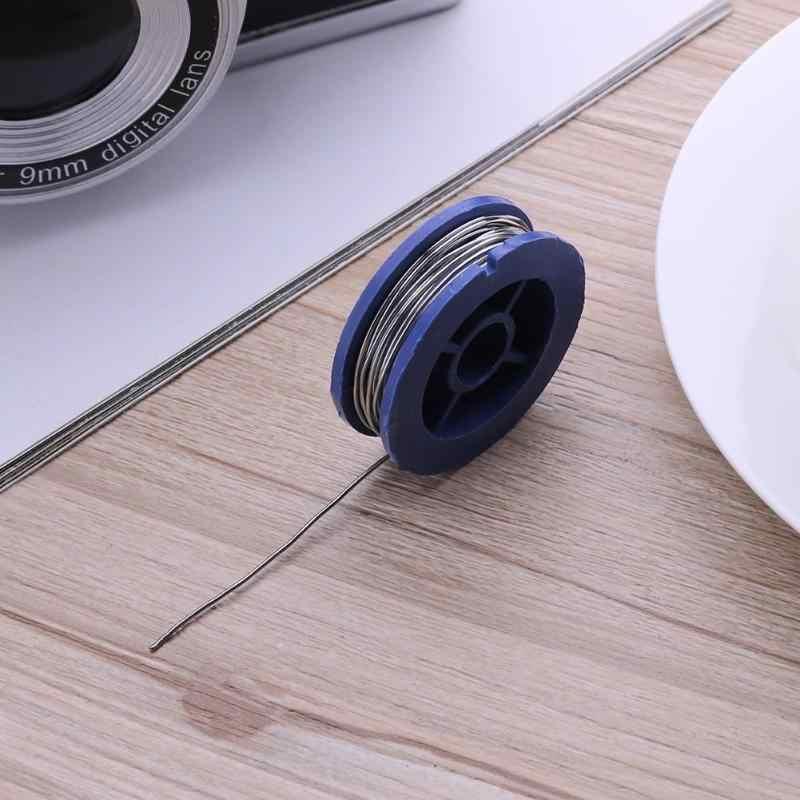 0.8mm 주석 납 로진 코어 솔더 납땜 와이어 플럭스 콘텐츠 솔더 납땜 와이어 롤 용접 와이어 3.5x1.1cm