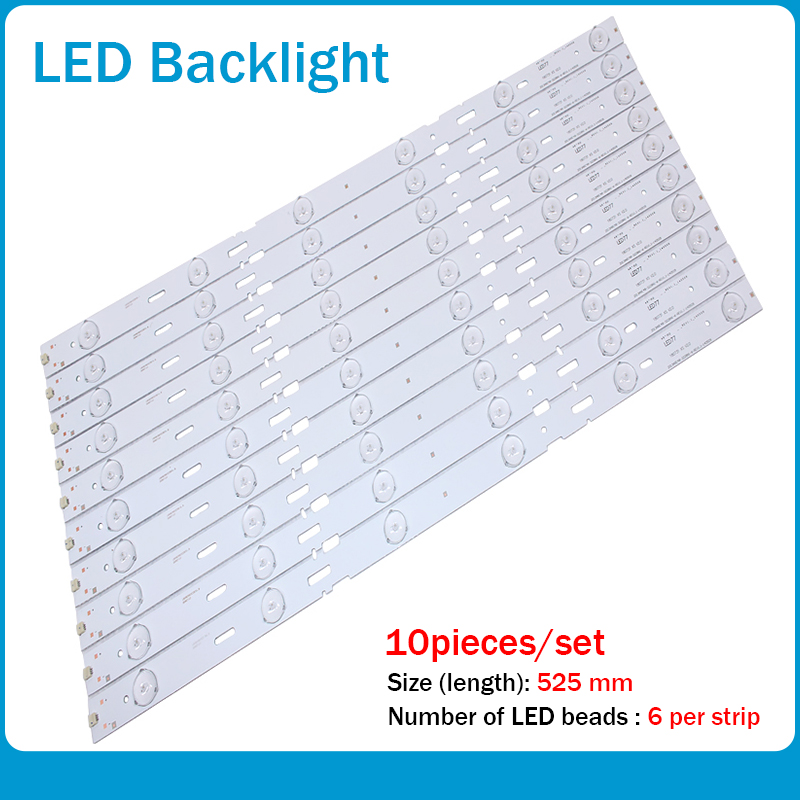 LED Backlight Strip 6leds For Samsung 48