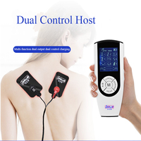 Electric Dual Control Host Dual Output Silicone Massage Matching Medical Theme Toys For Men And Women Electric Stimulation Toys