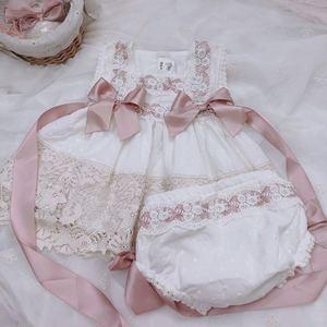 2020 filles coton bébé dentelle robe fête d'anniversaire mariage doux robe filles robe de noël enfants robes pour filles mère fille