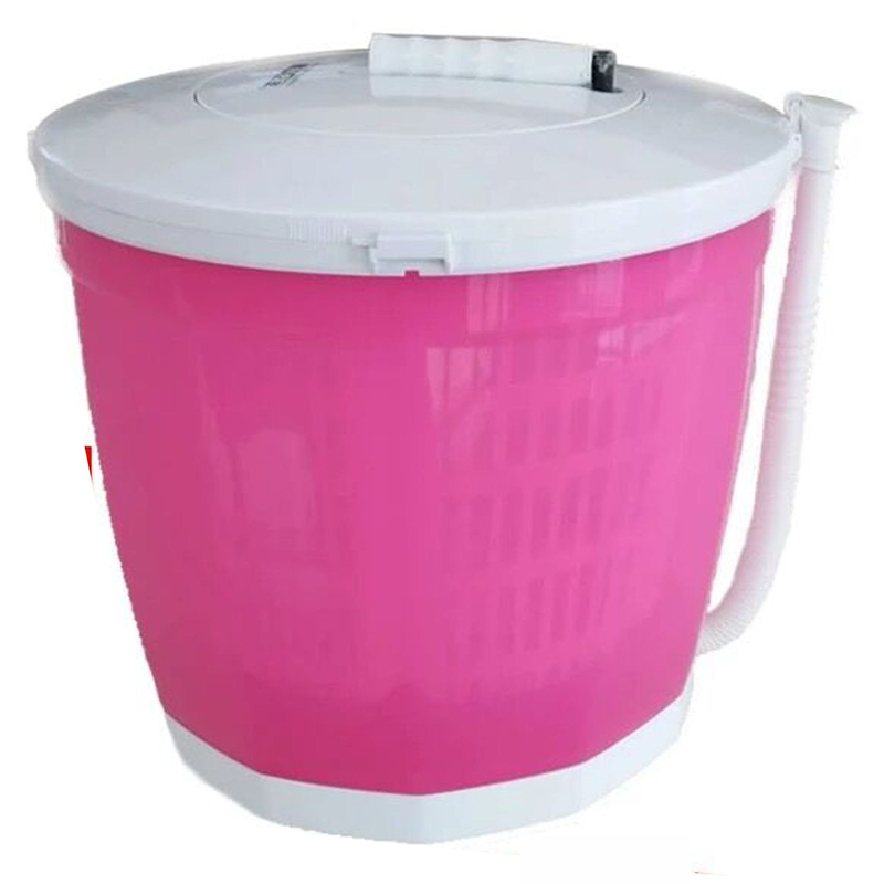 Hand-operated Manual Semi-automatic Clothes Washing Machine Hostels Mini Washer For Restaurant Vegetables Fruit Camping Cleaning
