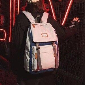 Школьный школьный рюкзак для девочек и школьников, мужские сумки на плечо в студенческом стиле, простой компьютерный рюкзак для отдыха
