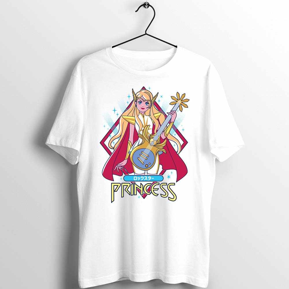 Unisex Uomo Donna T Shirt Anime Lei Ra Principessa di Power Divertente Artwork Stampato Tee