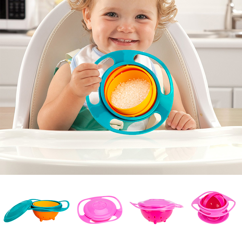 SafeBowl - 360 Spill Protection Baby Bowl