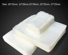 Vacuum Heat Sealer Food Saver Bags 100pcs/lot Food Bags Food-Grade Vacuum Packaging Bags(China)