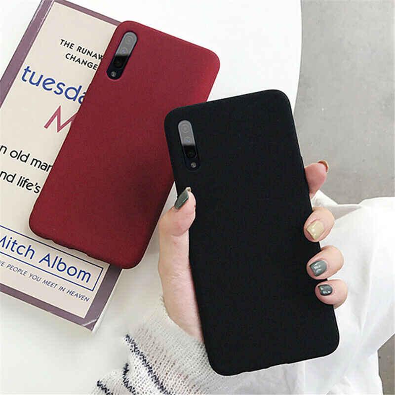 Ультра тонкий матовый мягкий чехол для телефона для samsung Galaxy M10 M20 M30 A20 A30 A50 A70 A9 A7 A6 A8 2018 S10 S9 S8 Plus Note 10 9 8