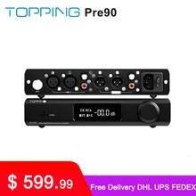 TOPPING-preamplificador Pre90 y extensor de entrada Ext90, módulos de Audio de alta resolución, NFCA, AMP, RCA/XLR, combinación de salida