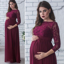 Pregnant Mother Dress New Maternity Photography Props Women Pregnancy Clothes Lace Dress For Pregnant Photo Shoot Clothing fr20 new maternity pregnant mommy pregnancy photographs photo studio clothing apparel maternity clothing pregnancy photo props