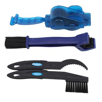 Zestawy narzędzi do czyszczenia rowerów środek do czyszczenia łańcucha rowerowego szczotki do opon rękawice do sprzątania rowerów zestawy do czyszczenia rowerów zestawy 6 w 1 zestawy do czyszczenia narzędzi tanie i dobre opinie AS474409