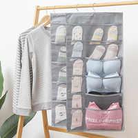 2910 أكسفورد القماش حقيبة تخزين قابلة للحمل نمط جديد الحائط عنبر الوجهين داخلية الجوارب الصدرية حقيبة تخزين قابلة للحمل
