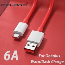 Para oneplus nord warp carga tipo-c traço cabo 6a carga rápida usbc cabo para um mais 8 7 pro 7 t 7 t 6t 6 5t warp carregador kabel