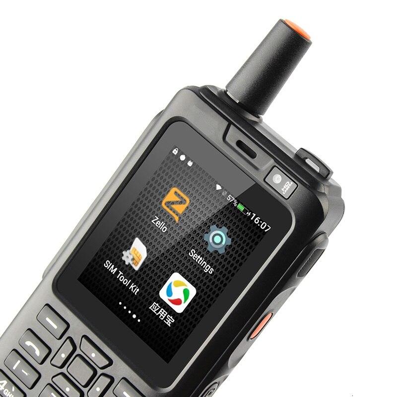 A prueba de golpes a prueba del teléfono móvil 4000mAh Zello Walkie Talkie Android 6,0 GPS 4G rugged Smartphone Quad Core Dual SIM F40 teléfono móvil - 4