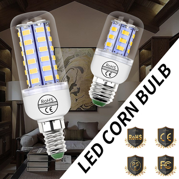 Led Lamp E27 220V Bulb E14 Corn Light G9 Bombillas Led 3W 5W 7W 9W 12W 15W GU10 Led Bulb B22 Chandelier Candle Light 5730 SMD image