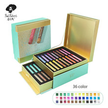 Drawing-Kits Paul Rubens Oil-Pastel Art-Supplies 36-Glitter-Colors for Children Crayons