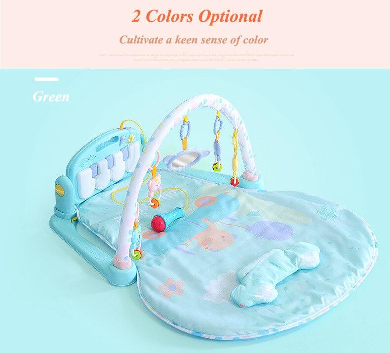 Bebê Brilhando 0-18 Meses de Piano Do