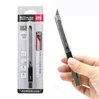 1pcs Durable Utility Knife Alloy Steel Knife for Carving Open Box Wallpaper Cutter Material Escolar Office School Stationery