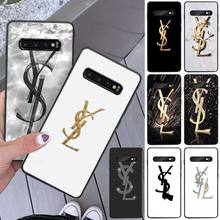 LJHYDFCNB Luxury brand Make-up letter Phone Case Cover For S