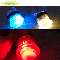 Free shipping Wholesale 25pcs 7 color LED 28mm chip key 2x zero delay