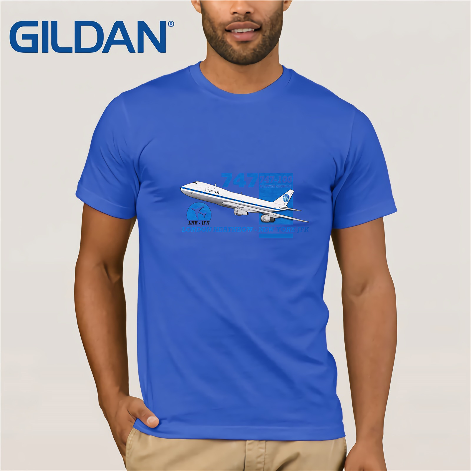 Boeing 747-100 BOAC Livery airliner T-Shirt Aeroclassic
