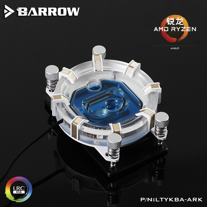 Barrow <font><b>CPU</b></font> Water Block use for <font><b>AMD</b></font> RYZEN3000 <font><b>AM3</b></font> AM4 Radiator 5V GND to 3PIN Hearder Motherboard image
