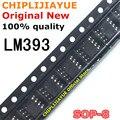 10 шт. LM393 SOP8 LM393DR 393 SOP-8 SOP SMD новый и оригинальный микросхема IC