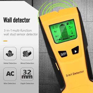 Image 3 - Vastar Detector de Metales 3 en 1, detecta tacos de madera, Metal, voltaje CA, cable en vivo, escáner de pared, Detector de caja eléctrica, Detector de pared