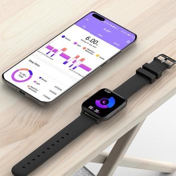 COLMI P8 Mix 1.69 Inch Smart Watch Men Heart Rate Monitor IP67 Waterproof Women Smartwatch Fitness Tracker for iPhone Plus 5