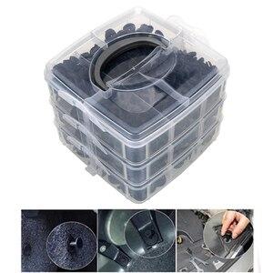 Image 2 - Kit de clips de fixation pour toutes les automobiles, rivets à pression, pour pare choc, 620, pièces/boîte, clips de fixation de garniture
