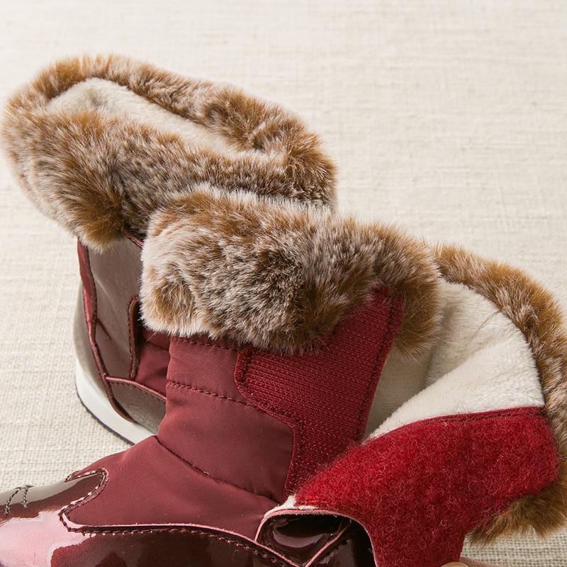 menina menino botas de neve marca sapatos 02