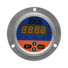 LONGLV  YL-820Z axial vibration-resistant digital display electric contact pressure gauge