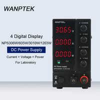 NPS306W/605W/3010W/1203W 4 Digital Display Adjustable DC Power Supply Mini Laboratory Switching Voltage Regulated Power