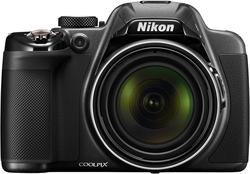FULL NEW Nikon COOLPIX P530 16.1 MP CMOS Digital Camera with 42x Zoom NIKKOR Lens and Full HD 1080p Video (Black)