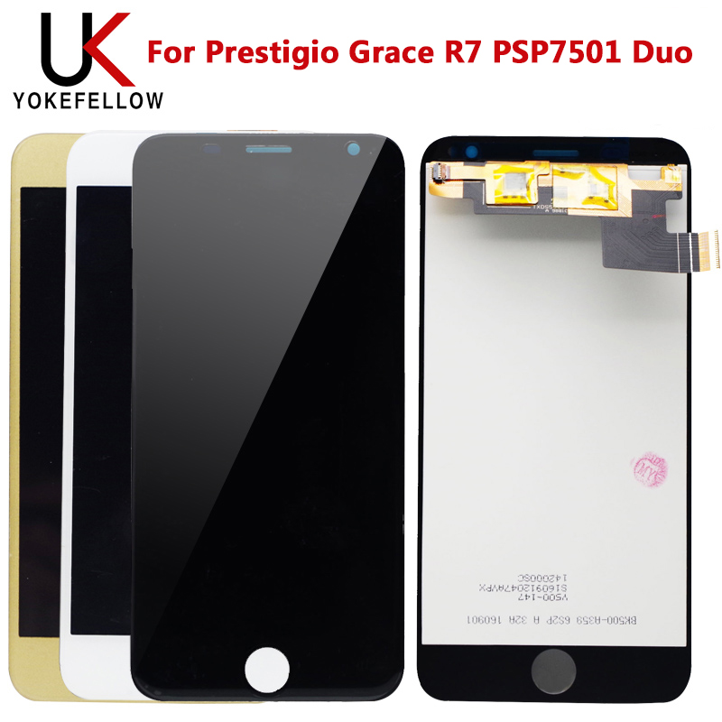 LCD Display For Prestigio Grace R7 PSP7501 Duo LCD Display Digitizer Screen With Touch Complete Assembly