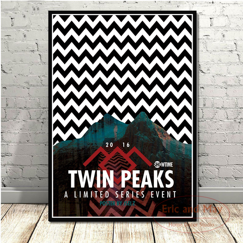Twin Peaks TV Series Shows Classic Movie Anime Poster And Prints Canvas Painting Art Wall Pictures For Living Room Home Decor