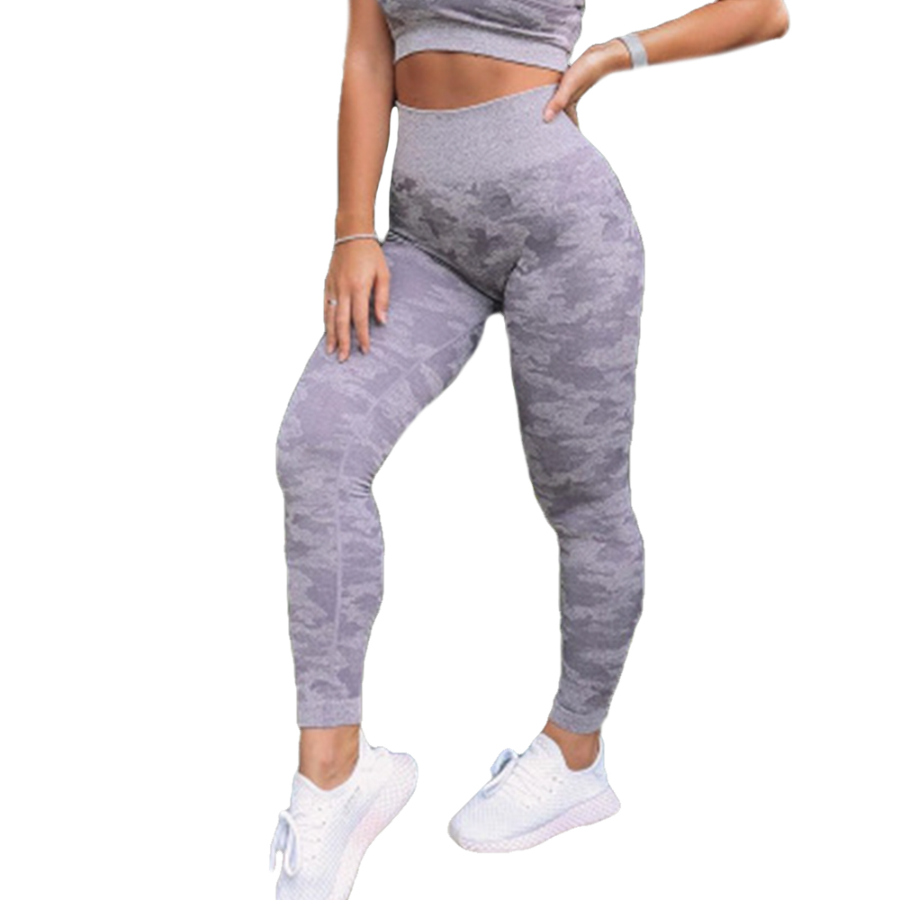 2020 Camo Seamless Leggings High Waist Fitness Yoga Pants Women Gym Leggings Tummy Control Leggings Casual Sports Women Clothes