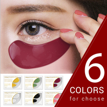 24K Crystal Collagen Gold Eye Mask Gels Eye Patches Dark Circle Puffiness Eye Bag Anti-Aging Wrinkle Firming Eye Patch Skin Care