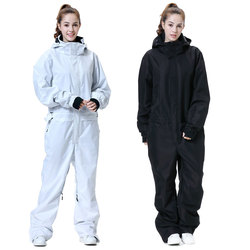 New Ski Suit Women Winter-30 Temperature Mountain Ski Jacket Snowboard Pants Women Waterproof Winter Warm Snow Jumpsuit Brands