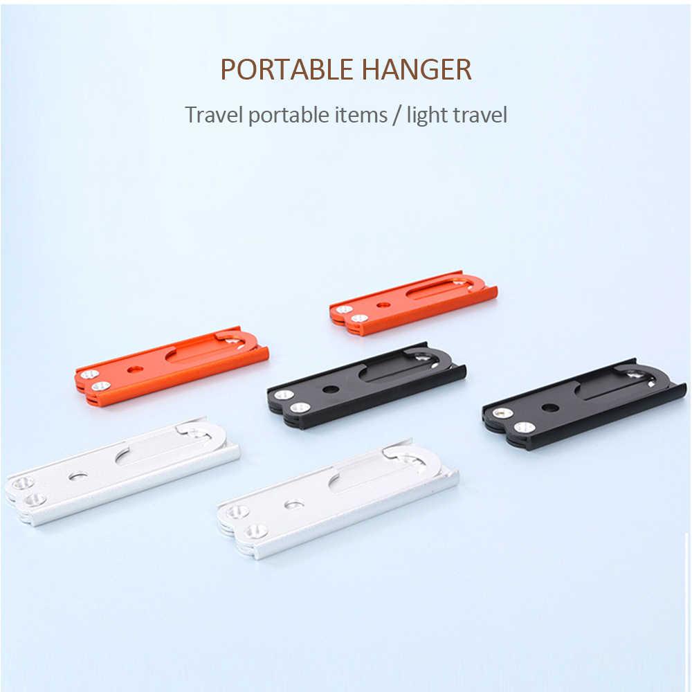 Portable Outdoor Camping Travel Folding Aluminum Alloy Clothes Coat Hanger New