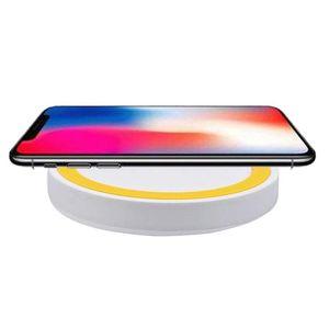 Image 5 - 9mm Thickness LED Indicator Light Mini Wireless USB Quick Charger Anti slip Silicone Base Pad
