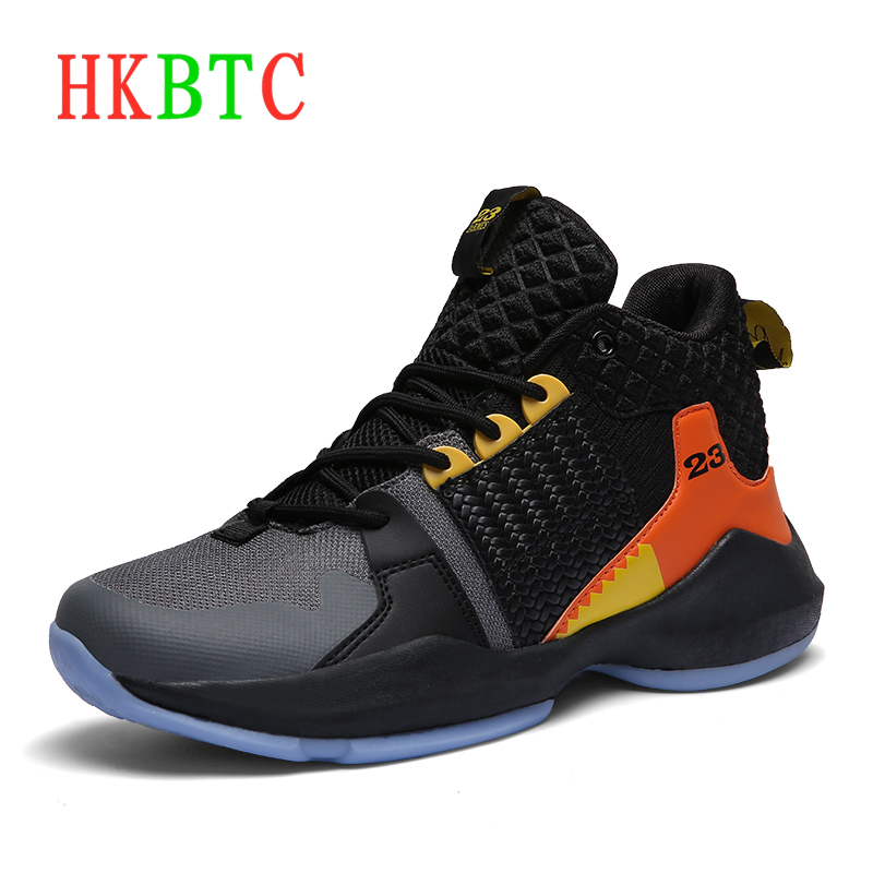 New Lebron James Professional Basketball Shoes Unisex Sport Sneakers Women Breathable Air Zoom Cushion Hook Loop Shoes Lebron 23