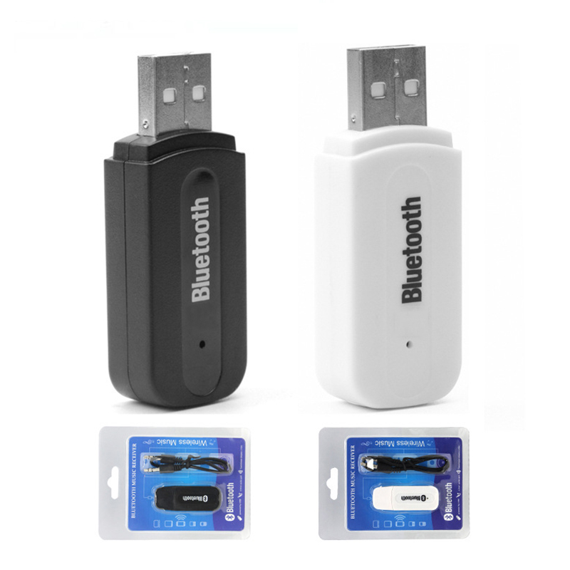 USB Bluetooth 4.0 Adapter Car Speaker Wireless Audio Bluetooth Stick 3.5mm Bluetooth Audio Receiver USB Interface