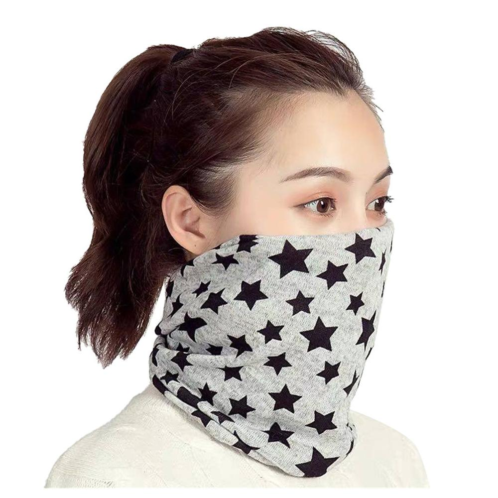 Multifunctional Bib Women's Protection Against Dust Hedging Autumn And Winter Cold Protection Neck Wild Accessories Headgear