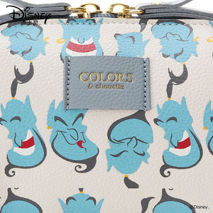 Image 4 - Disneys New Travel Cosmetic Bag Clutch Aladdin Women Make Up Bag Girls Pouch Makeup Travel Wash Storage Bag Luxury Handbag