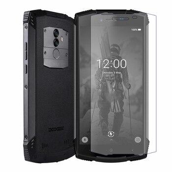 Перейти на Алиэкспресс и купить 2 шт. закаленное стекло Для Doogee Y9 Plus S55 Lite BL5500 S90C N100 Защитная пленка для экрана для Googee X7 Pro X7S