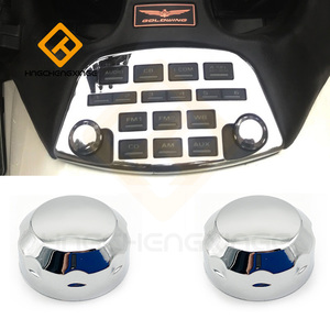 Switch button decorative shell switch chrome For Honda Goldwing 1800 GL1800 2001-2011 decoration