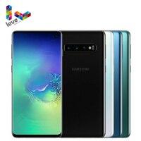 Samsung-teléfono inteligente Galaxy S10 G973U G973U1, versión estadounidense, pantalla de 6,1 pulgadas, 8GB de RAM, 128GB de ROM, ocho núcleos, NFC, Android Original