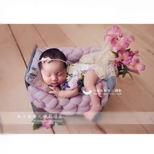 Newborn Photography Props Retro Love Heart Basket Studio Shoot Photo Wood Baby Photo Frame Fotografia Accessories for Bebe Poser(China)